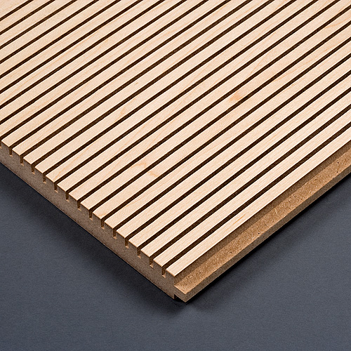 Holz-F grooved timber acoustic panels - BER Deckensysteme